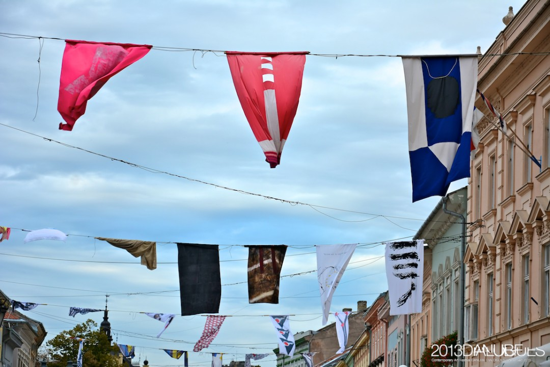 Izložba umetničkih zastava